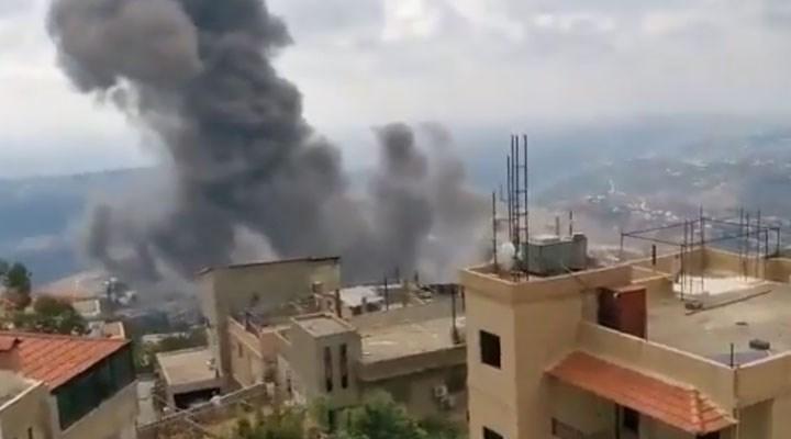 Lübnan'da Hizbullah'ın silah deposunda patlama