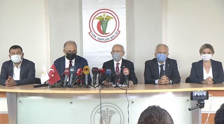 MHP'den TTB'yi ziyaret eden Kılıçdaroğlu'na: Kandil'e de gidecek mi?