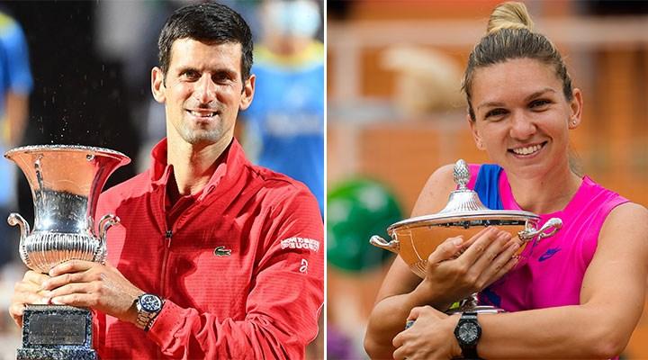 Roma Açık Tenis Turnuvası'nda, kadın şampiyona 10 avro daha az ödül verildi