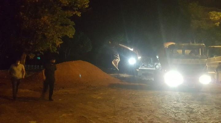 AKP'li belediye yangından mal mı kaçırıyor?