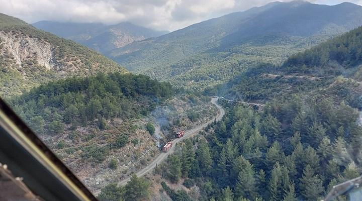 Hatay'da 8 ayrı noktada orman yangını: 1 gözaltı