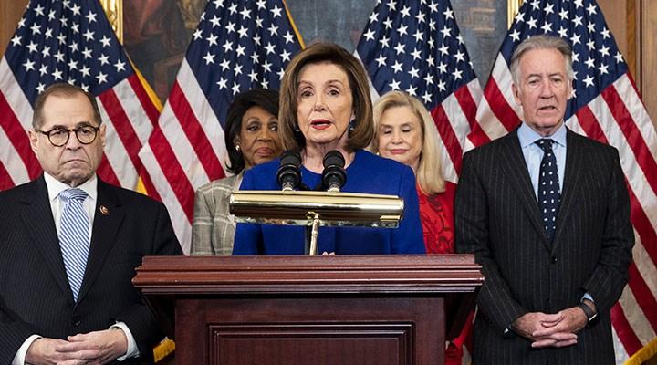 ABD Temsilciler Meclisi Başkanı Pelosi'den Trump'a: Türkiye'de değilsiniz, burası bir demokrasi