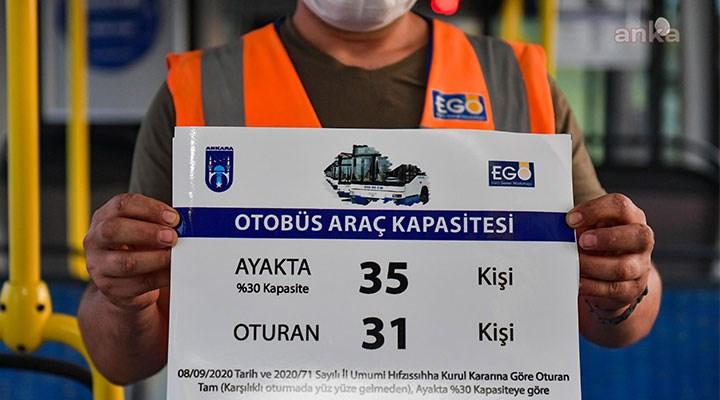 Ankara'da toplu taşımaya yeni önlem