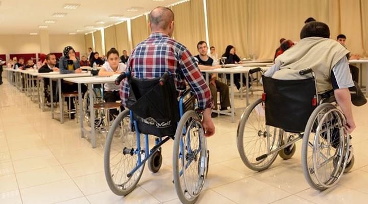 EKPSS mağduru 85 bin engellinin sınavı yapılmıyor
