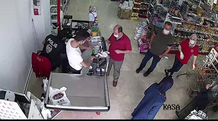Koronavirüse yakalandığı için karantinada olan kişi, market alışverişinde yakalandı