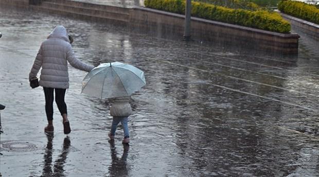Meteoroloji'den çok sayıda kent için sağanak  uyarısı