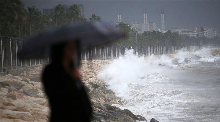 Meteoroloji'den 10 ile kuvvetli yağış uyarısı