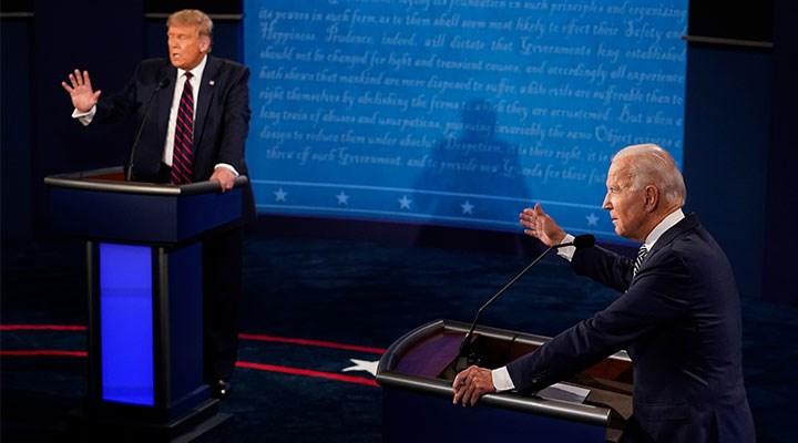 Trump ve Biden ilk kez canlı yayında karşı karşıya