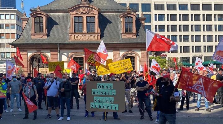 Continental işçileri, iş yerlerini kaybetmek istemiyor