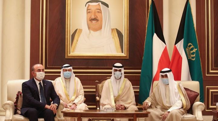 Dışişleri Bakanı Çavuşoğlu, taziye için Kuveyt'te