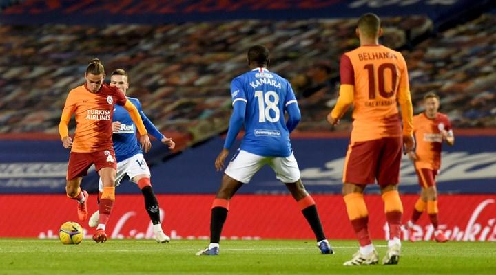 Rangers'a yenilen Galatasaray, Avrupa'ya veda etti