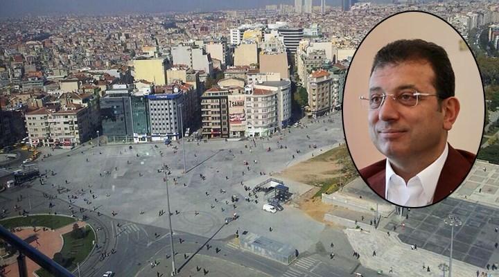 İmamoğlu'ndan Taksim mesajı: Hızlıca bitirmek istiyoruz