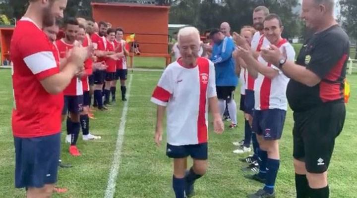 80 yaşındaki futbolcu 'Benden bu kadar' dedi