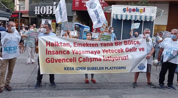 KESK İzmir: Kamu hizmetlerine ayrılan pay artırılsın
