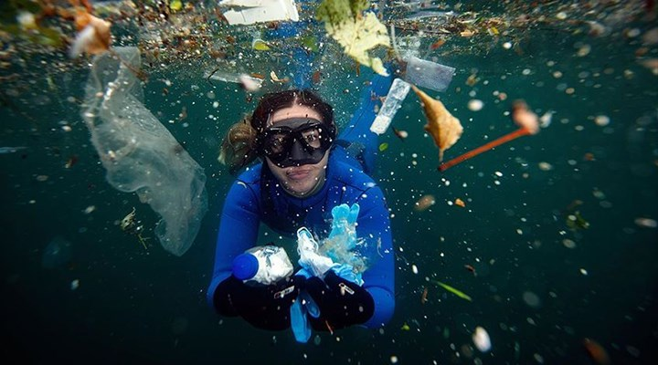 Okyanuslar mikroplastik deposu
