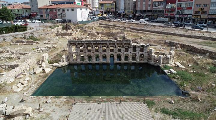 Dünyada iki tane var: 2 bin yıllık Roma hamamını kurtarma çalışmaları durduruldu