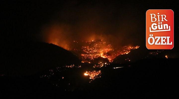 Belen'deki yangına yakın yerde maden projesi yapılacak