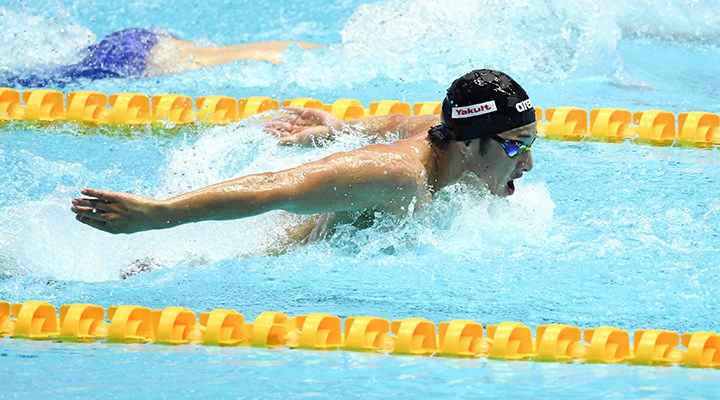Dünya şampiyonu Japon yüzücüye 'evlilik dışı ilişki' cezası