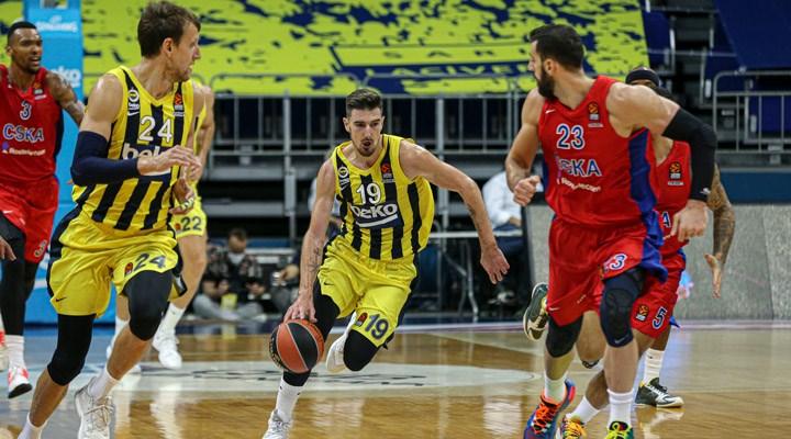 Fenerbahçe, EuroLeague'deki ilk yenilgisini aldı
