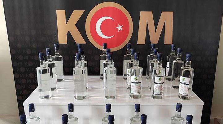 İstanbul'da kaçak alkol imalathanesine baskın: 7 ton sahte alkol ele geçirildi