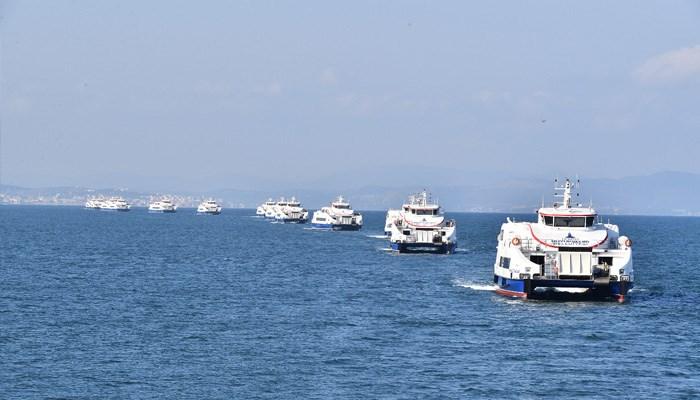 İzmir'den deniz yolu ulaşımında büyük atılım