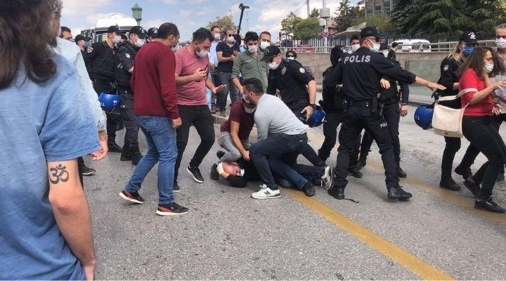 İSİG Meclisi üyelerine polis müdahalesi: 294 işçinin öldüğünü kimse duymasın!