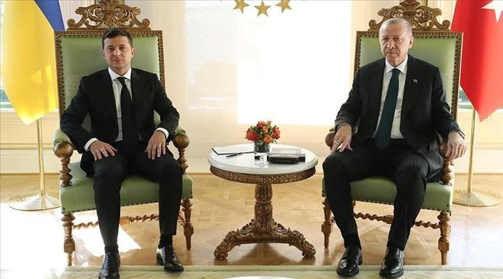 Erdoğan ve Ukrayna Devlet Başkanı Zelenskiy, ortak basın açıklaması yaptı