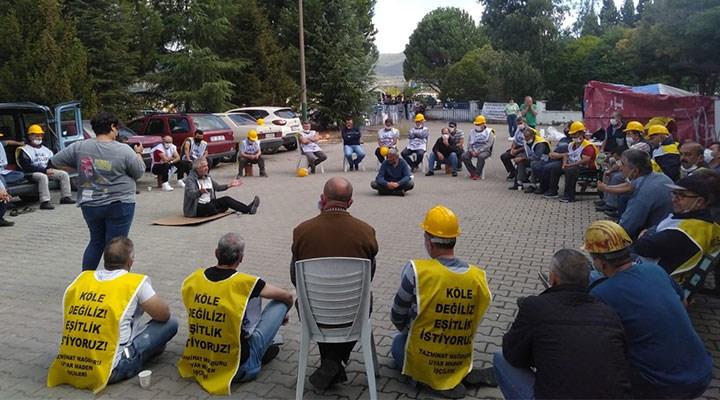 Madencilerin TKİ ile görüşmesinden sonuç çıkmadı: Direnişe devam!