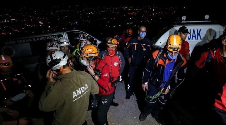 Uludağ'da kaybolan 4 kişi bulundu