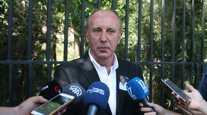 Muharrem İnce'den Kılıçdaroğlu'nun seçim çağrısına kinayeli destek
