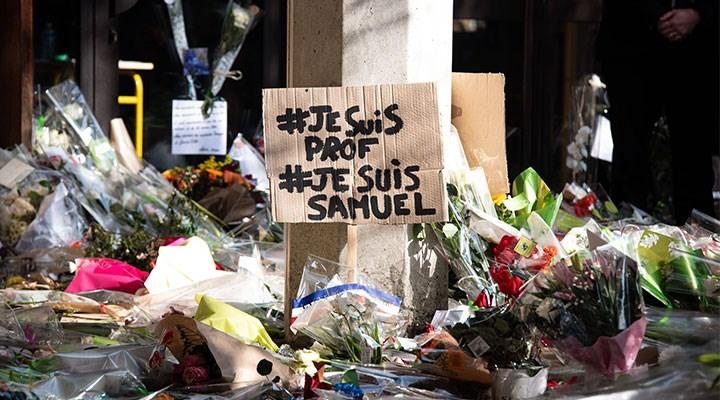 Paris'te bir öğretmen başı kesilerek öldürülmüştü: Macron'dan açıklama