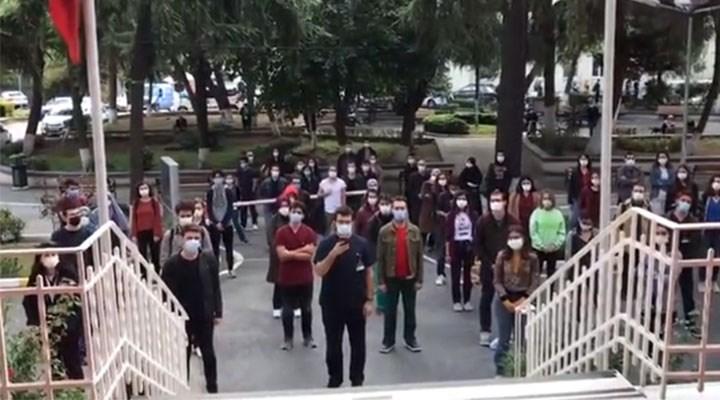 Tıp öğrencilerinden yemekhane boykotu