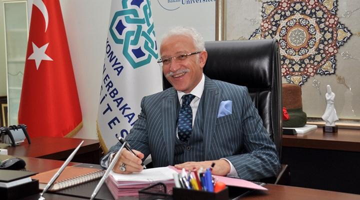Torpil iddiasıyla tanınan rektör, cami için IBAN verip para istedi
