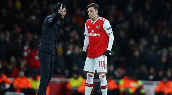 Arteta'dan Mesut Özil açıklaması: Vicdanım çok rahat