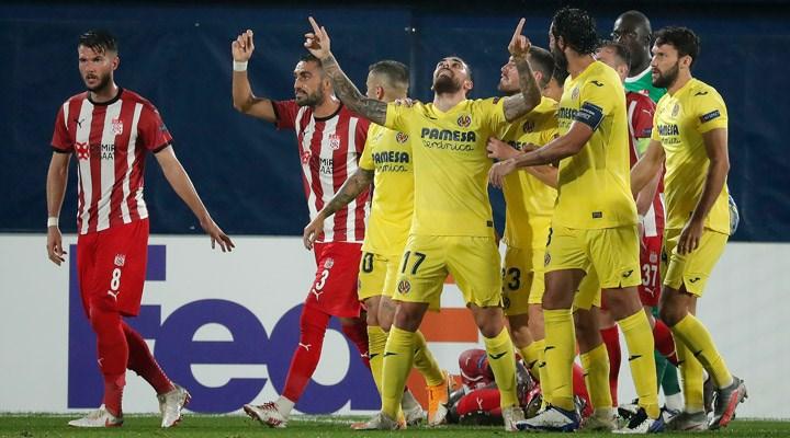 Sivasspor, UEFA Avrupa Ligi'ne yenilgiyle başladı