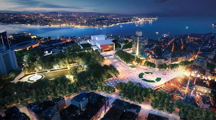 Taksim Meydanı  aceleye gelmez