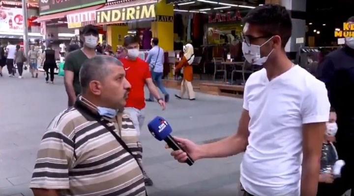 Sokak röportajında iktidarı eleştirdi, akşamında evi basılarak gözaltına alındı!
