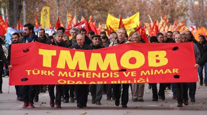 TMMOB kuruluşunun 66'ncı yılında: Geri adım atmayacağız
