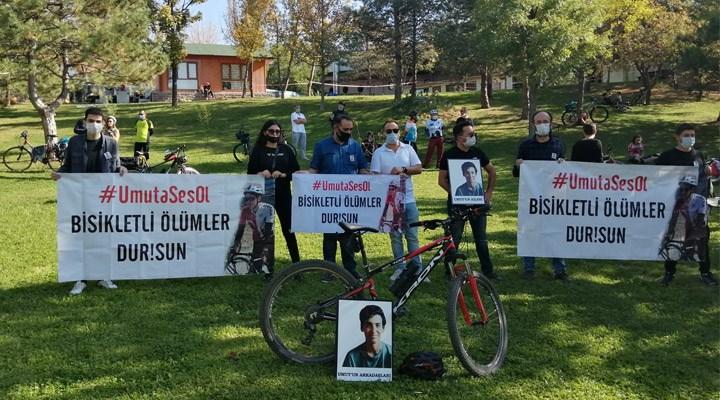 Bisikletliler ölümlere karşı sokağa çıktı: İsimler farklı ama acılarımız ortak
