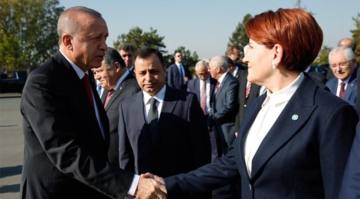 Erdoğan'dan İYİ Parti'ye kutlama mesajı