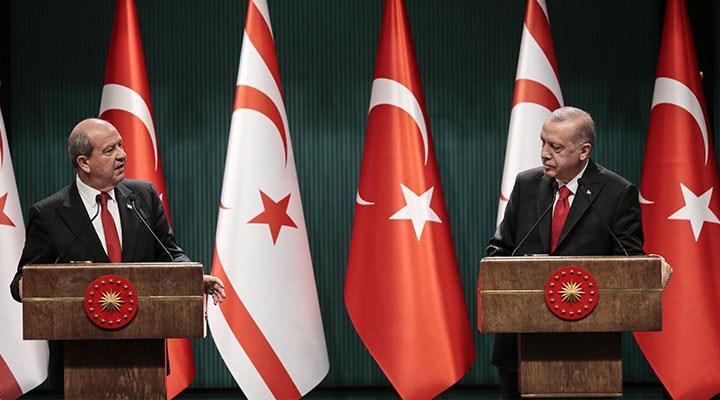 Erdoğan ve Tatar'dan ortak açıklama: İki devletli çözüm çağrısı