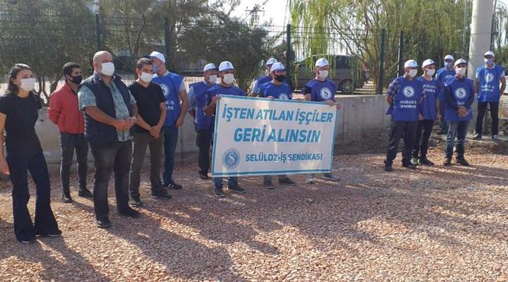 İzmir'de Oral Ambalaj'da sendikaya üye oldukları için 5 işçi işten çıkartıldı