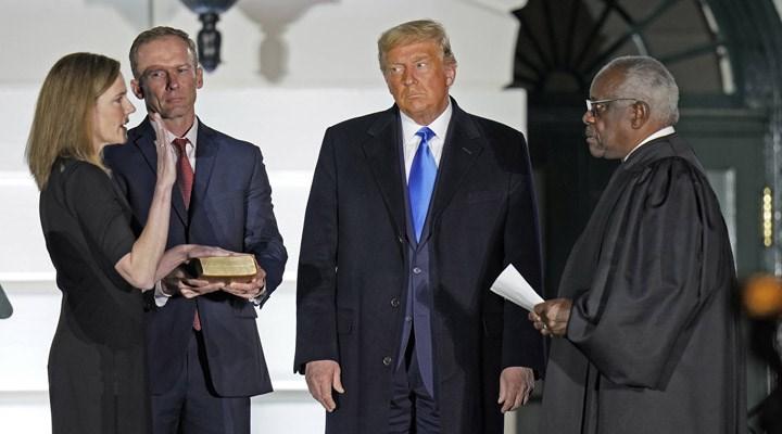 ABD'de Yüksek Mahkeme Yargıcı Barrett, Beyaz Saray'da yemin etti