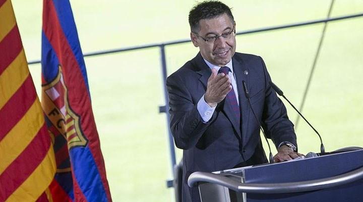 Barcelona Kulüp Başkanı Bartomeu istifa etti