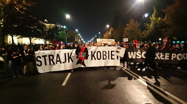 Polonya'da kadınlar kürtaj hakkı için eylemde