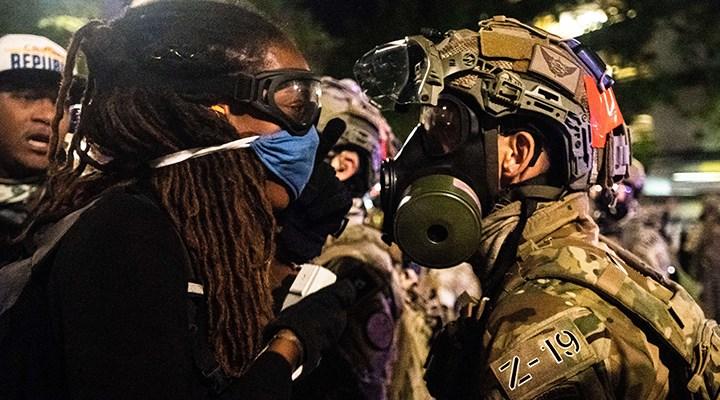 ABD yangın yeri: Şiddetli protestolar sonrası Philadelphia'ya ulusal muhafızlar gönderiliyor