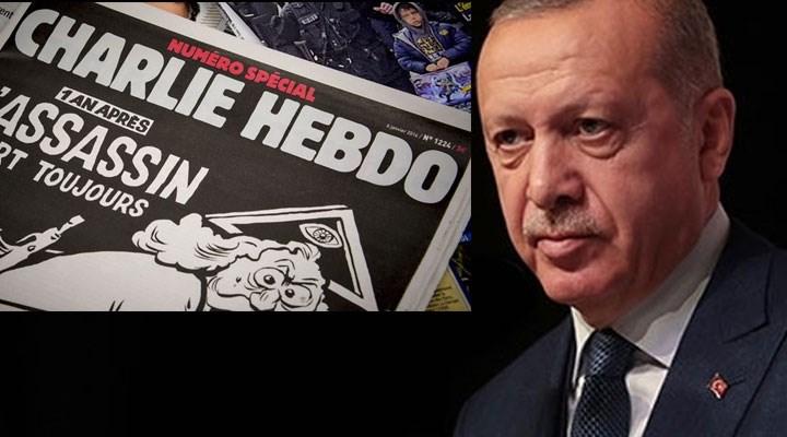 Charlie Hebdo'dan tartışma yaratan Erdoğan karikatürü