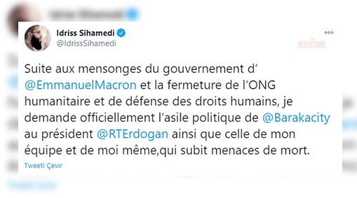 Fransa'da radikal İslamcı fikirleri yaymakla suçlanan Sihamedi, Türkiye'ye sığınmak istiyor!