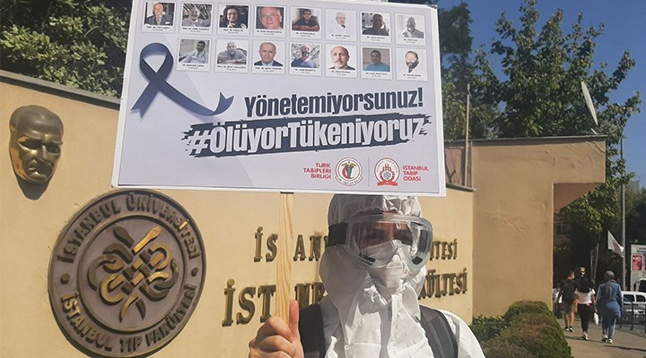 Sağlık meslek örgütlerinden Bakanlığa tepki: Haklarımızdan vazgeçmiyoruz!