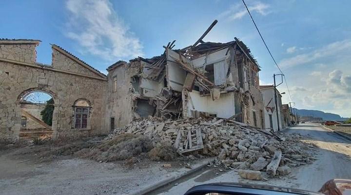 Ege Denizi'ndeki deprem Sisam Adası'nı etkiledi: Çok sayıda ev yıkıldı